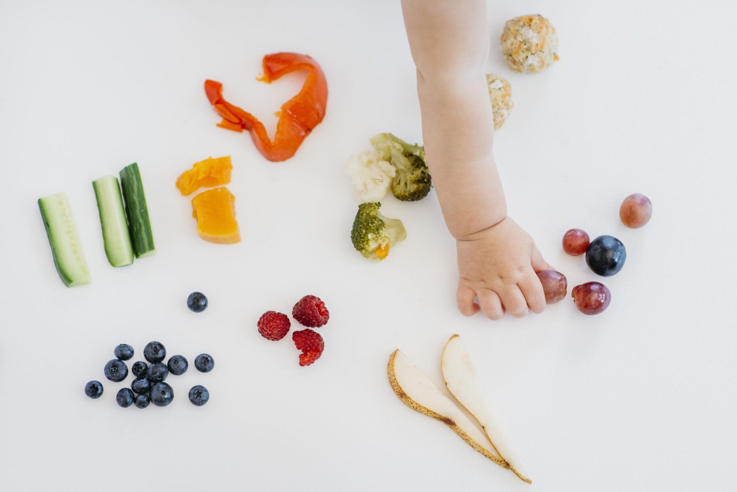 alimentación en niños